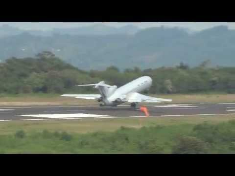 Air Force Boeing 727 Short Field Takeoff