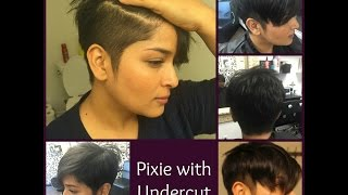 Pixie Diaries | Pixie with Undercut | For thick hair