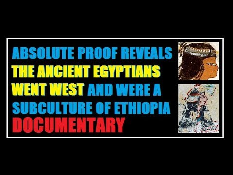 ABSOLUTE PROOF THE ANCIENT EGYPTIANS WENT WEST