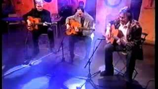 Leo Eimers, Stochelo Rosenberg and Harry Klunder playing Eimers Guitars
