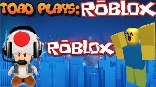 Why won't this work?! | Plush play ep.2 Toad plays Roblox!