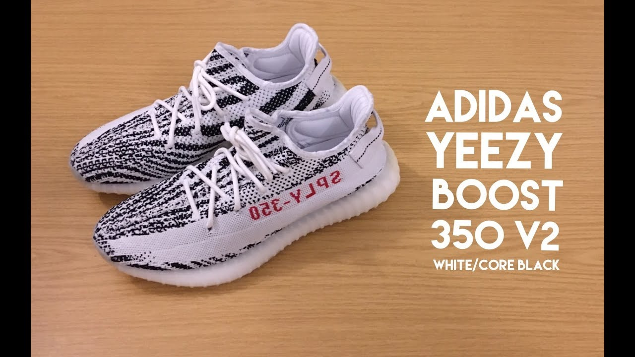 adidas yeezy auftrieb 350 v2 zebra über youtube