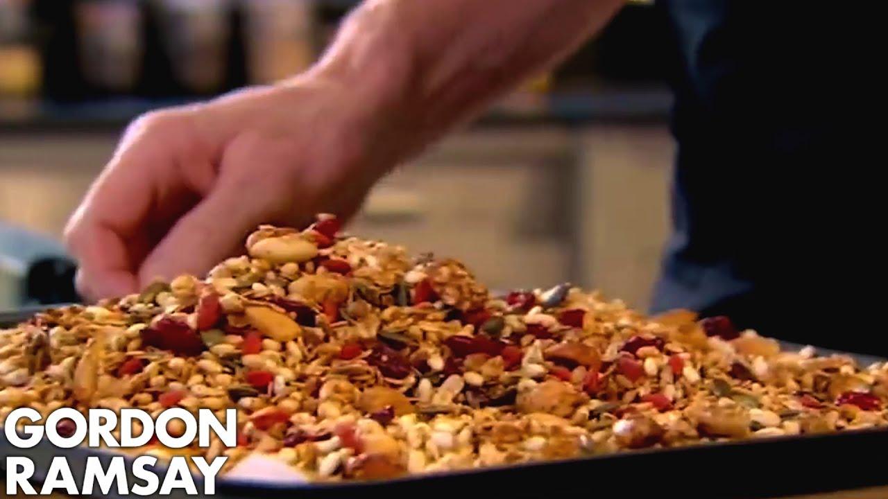 Gordon Ramsay S Granola Recipe Youtube
