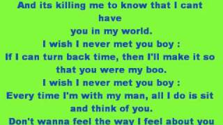 Wish I Never Met You-Trina Ft. Shonia