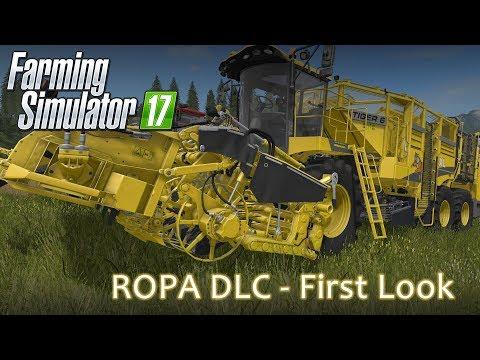 Farming Simulator 17 - Ropa DLC - First Look