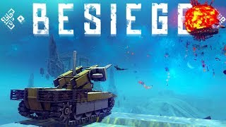 Besiege - The Most Powerful Weapons in Besiege - Vacuum Rockets! - Besiege Best Creations