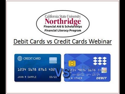 Debit Cards vs Credit Cards Webinar