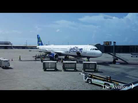 JetBlue Airways Kingston Jamaica To New York JFK [Full Flight] A321