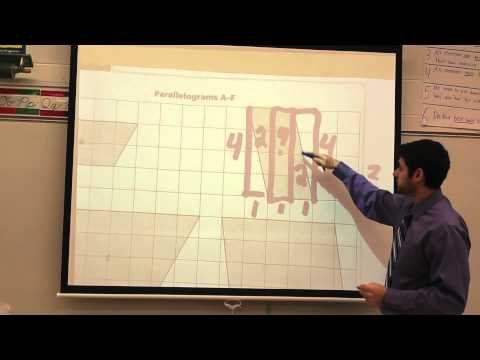 Covering and Surrounding Problem 3.1 Area and Perimeter of Parallelograms