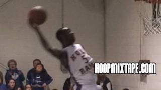 CJ Leslie Catches A CRAZY Oop Pass In Their Conference Playoff Game