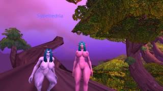 Porn World elf comic of night warcraft