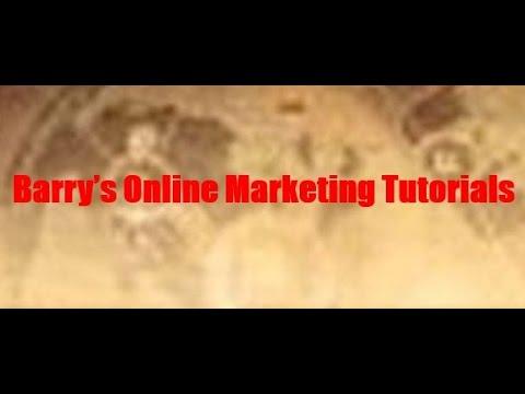 Barry's Online Marketing Tutorials