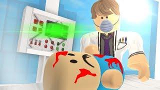 ŠÍLENÝ DOKTOR V ROBLOXU?! Roblox Evil Hospital Obby