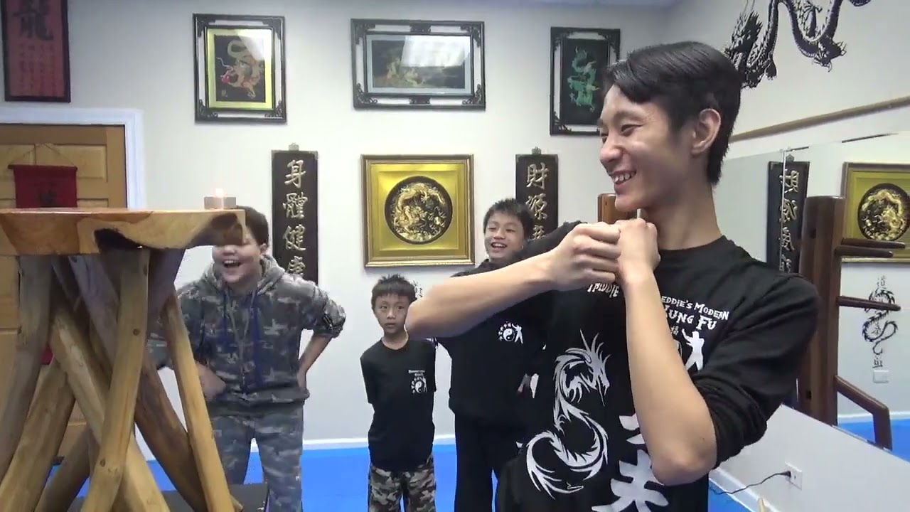 Kung Fu Candle Knockout Challenge