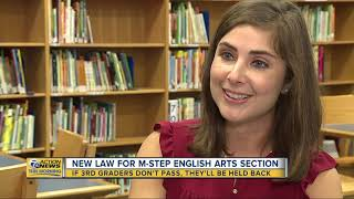 New law requires third graders who don't pass M-STEP English will be held back