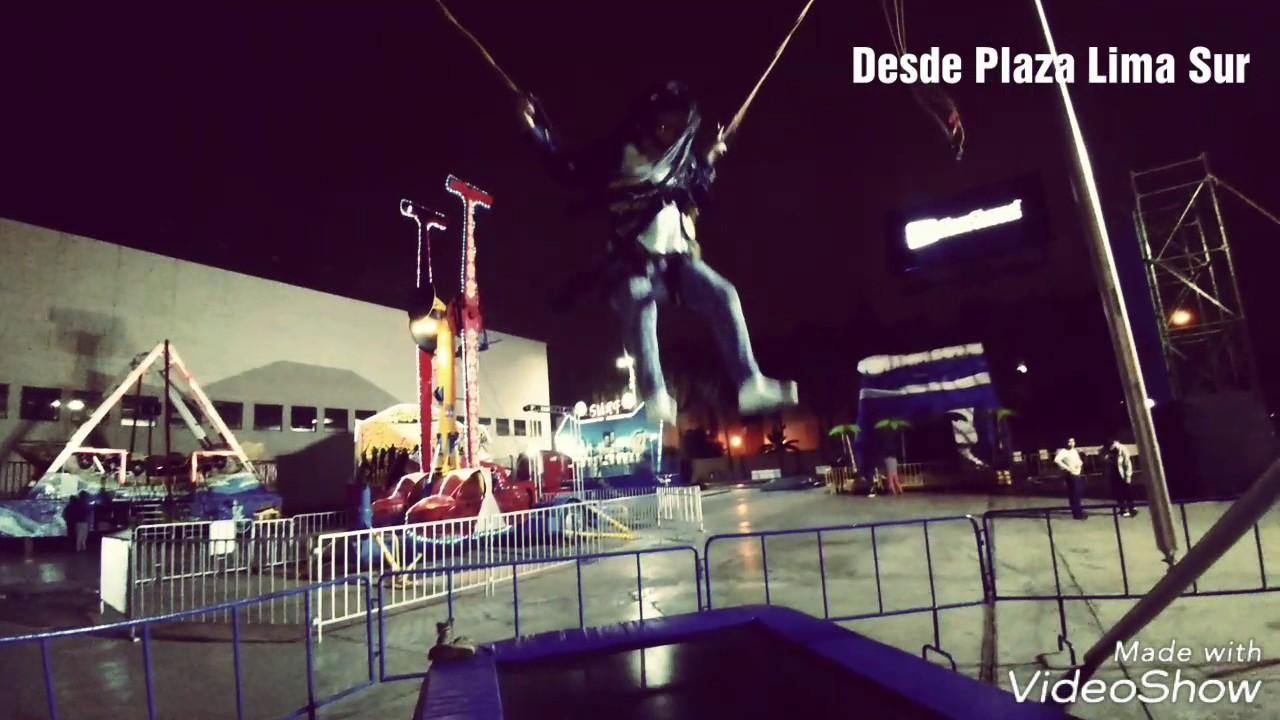 Juegos Mecanicos Xtreme Plaza Plaza Lima Sur Youtube