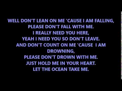 The Amity Affliction  Don't Lean On Me lyrics