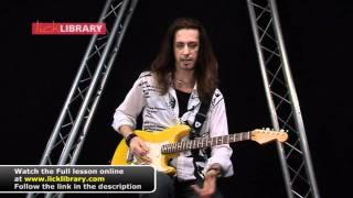 Learning To Fly - Tom Petty Slide Guitar Solo Lesson With Michael Casswell Licklibrary