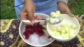tutorial cara membuat sop buah