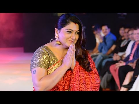 Celebrities walk the ramp for Sanjana Jon at CIFW 2014 Day 2 Part 1