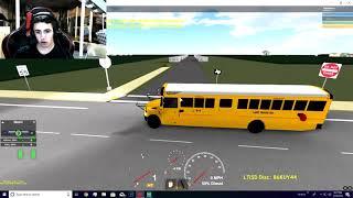 ROBLOX, SCHOOL BUS SIMULATOR, REVISED ROUTE