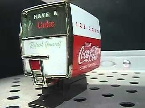 Coca Cola Foountain Machine Musical 1958