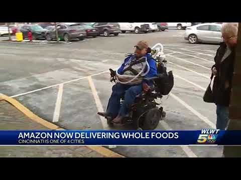 Cincinnati one of 4 cities to launch Amazon Prime Whole Foods delivery