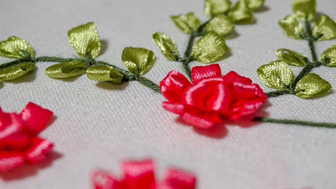 731b9536e7dd6 Ribbon Embroidery Tutorial