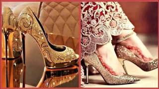 Gold Colour Bridal Sandals