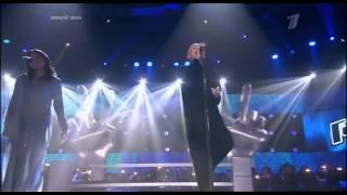 Anna Aleksandrova i Nargiz Zakirova - Zamok iz dozhdya The Voice