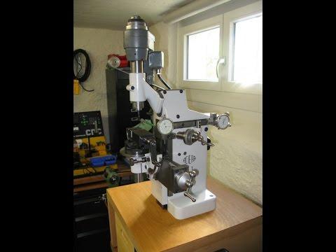 Aciera F1 universal milling machine / Universalfräsmaschine