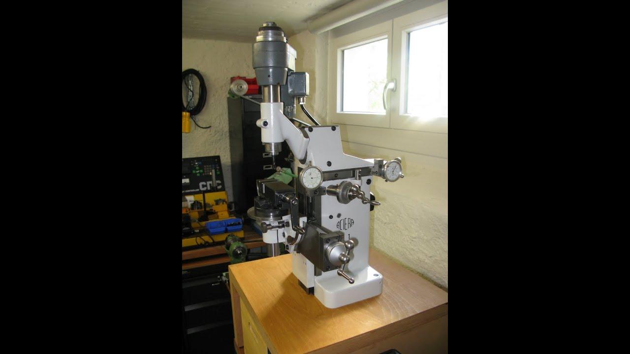 Aciera F1 Universal Milling Machine Universalfr 228 Smasc