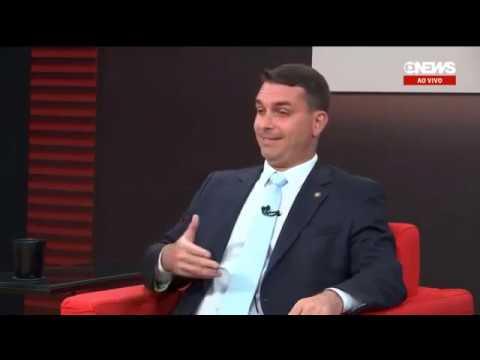 FLÁVIO BOLSONARO NA CENTRAL DA TRANSIÇÃO - GLOBO NEWS ENTREVISTA COMPLETA