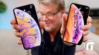 iPhone XS et XS Max - unboxing et prise en main