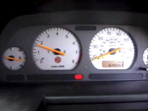 Mg zr zs zt rover k-series high idle problem fix