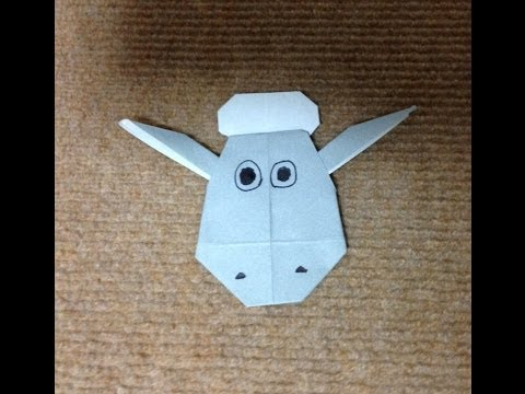 ハート 折り紙:ひつじの折り紙-origami.wiki.fc2.com
