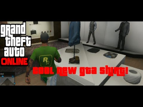 GTA 5 Online: How To Get 'Rockstar V Neck Shirt' (Secret) (Easy)