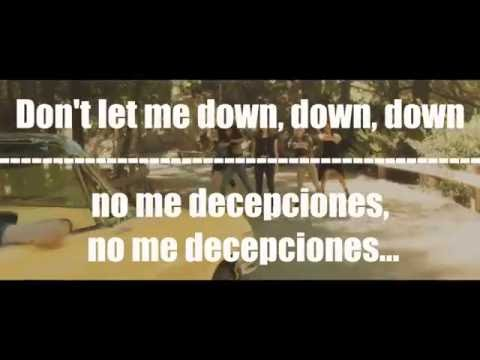 The Chainsmokers - Don't Let Me Down ft. Daya|LYRICS + SUBTITULADO ESPAÑOL