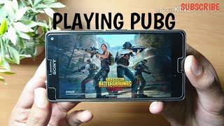 Sony Xperia z4 playing in PUBG ## (2019)///''??