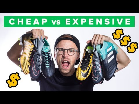 Cheap Vs Expensive Football Boots