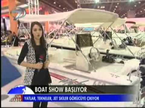 Kanal 7 Ana Haber-Dizayn Vip Yön.Kur.Bşk.Erbakan Malkoç Avrasya Boat Show Haberi