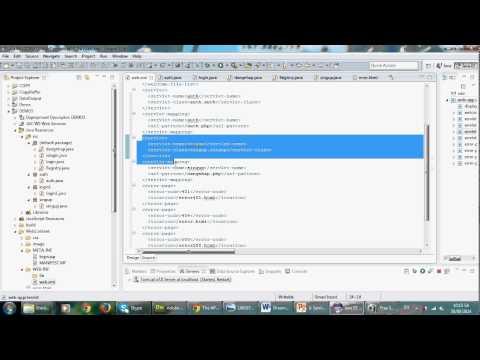 Hướng dẫn tạo Web Map XML trong Web JSP