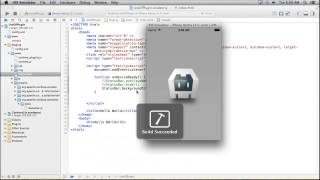 Free Phonegap Tutorial for iOS & Android Tutorial 26 - Use the StatusBar Plugin in Phonegap App