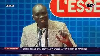 Pr Alioune Ndiaye Économiste on a un problème de l'égalité et de légitimité avec la France
