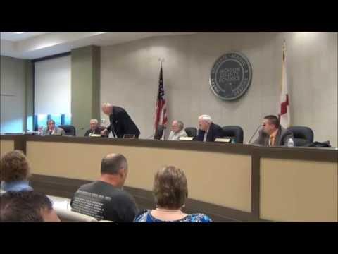 Jackson Co. Bd. of Ed. Meeting 8-28-15