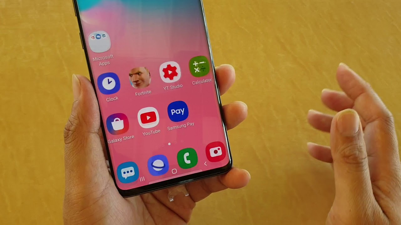 Samsung Galaxy S10 / S10+: How to Change Voicemail Notification Sound