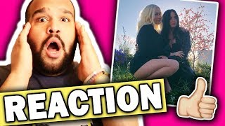 Christina Aguilera Ft Demi Lovato Fall In Line Music Audio Reaction
