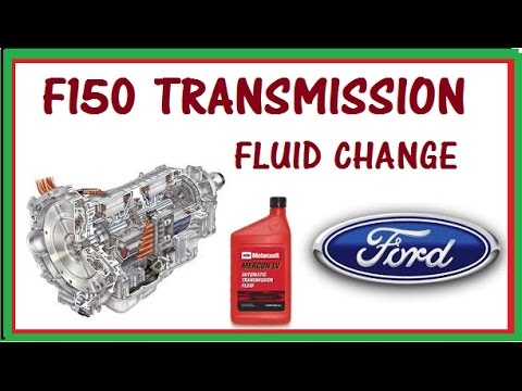 07 f150 transmission fluid change