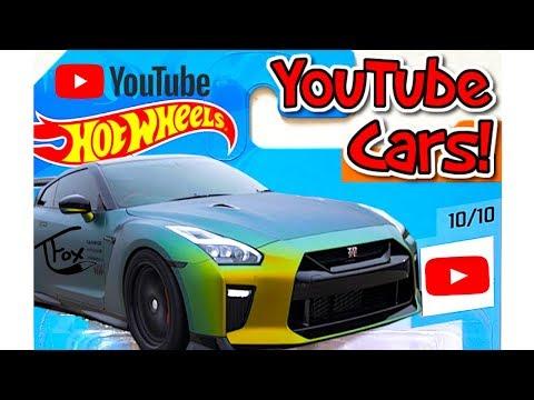 YouTube Hot Wheels