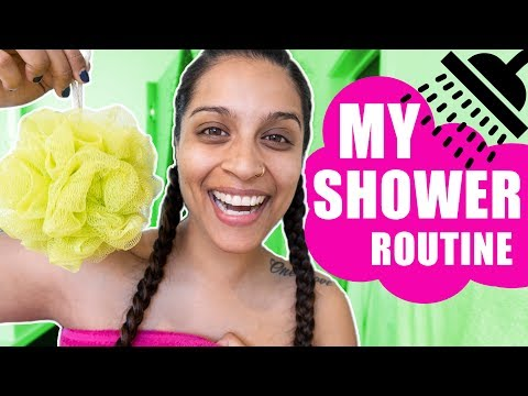 MY REAL (BASIC) SHOWER ROUTINE